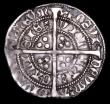 London Coins : A157 : Lot 1881 : Groat Henry VI Annulet issue, Calais Mint  S.1836 mintmark pierced Cross, Good Fine, with old collec...