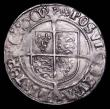 London Coins : A157 : Lot 1886 : Groat Henry VIII Second Coinage Laker Bust D S.2337E mintmark Rose VF nicely toned