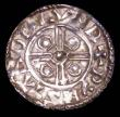 London Coins : A157 : Lot 1949 : Penny Cnut Pointed Helmet type S.1158 London Mint moneyer Wynstan NVF on a wavy flan