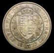London Coins : A157 : Lot 2637 : Halfcrown 1893 Proof ESC 727 UNC and attractively toned with some minor contact marks, slabbed and g...
