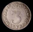 London Coins : A157 : Lot 2799 : Maundy Threepence 1699 ESC 2001 EF , slabbed and graded LCGS 70