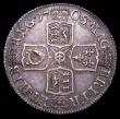 London Coins : A157 : Lot 3027 : Shilling 1708 Third Bust ESC 1147 About EF with an attractive grey tone