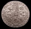 London Coins : A157 : Lot 3132 : Sixpence 1726 Small Roses and Plumes ESC 1602 VF or better, slabbed and graded LCGS 55