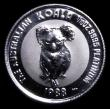 London Coins : A158 : Lot 1012 : Australia 15 Dollars 1988 Koala One Tenth Ounce KM#108 Platinum Proof nFDC