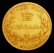 London Coins : A158 : Lot 1016 : Australia Half Sovereign 1858 Sydney Branch Mint Marsh 383 VG