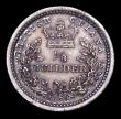 London Coins : A158 : Lot 1042 : British Guiana (Guyana) 1/8 Guilder 1836 KM#22 stated by the vendor to be a Proof striking, GEF tone...