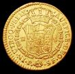 London Coins : A158 : Lot 1071 : Colombia 2 Escudos 1783 P SF Near Fine/Fine