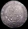 London Coins : A158 : Lot 1664 : Crown Charles I Group II, Tower Mint, Second horseman type 2a, Smaller horse with plume on head only...