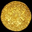 London Coins : A158 : Lot 1724 : Ryal (Rose Noble) Edward IV London Mint S.1950 mintmark Crown EF and sharply struck, 7.77 grammes, v...