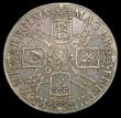 London Coins : A158 : Lot 1798 : Crown 1691 as ESC 82 with I over E in GVLIELMVS NVF/GF the obverse weak on the highest points of the...