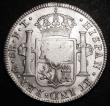 London Coins : A158 : Lot 1870 : Dollar George III Octagonal Countermark on 1802 Mexico City 8 Reales ESC 138 countermark and host co...