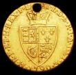 London Coins : A158 : Lot 2009 : Guinea 1790 Fair and holed