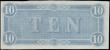 London Coins : A158 : Lot 201 : Confederate States of America 10 Dollars dated February 17th 1864, series 9 No. 84591 plate G, Pick6...