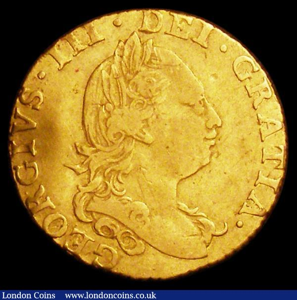 Half Guinea 1785 S.3734 Fine on a wavy uneven flan : English Coins : Auction 158 : Lot 2039