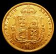 London Coins : A158 : Lot 2104 : Half Sovereign 1887S Small spread JEB with hooked J, S.3871 VF slabbed and graded LCGS 50