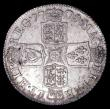 London Coins : A158 : Lot 2431 : Shilling 1708 Third Bust ESC 1147 AU/UNC the obverse toned, the reverse lustrous