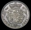 London Coins : A158 : Lot 2464 : Shilling 1821 ESC 1247 EF/About EF and attractively toned, comes with an old collector's ticket...