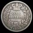 London Coins : A158 : Lot 2479 : Shilling 1850 ESC 1296 VG the obverse with some scratches