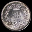 London Coins : A158 : Lot 2490 : Shilling 1873 ESC 1325 Die Number 40 in a PCGS holder graded PCGS MS64