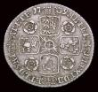 London Coins : A158 : Lot 2561 : Sixpence 1739 Roses, O over R in GEORGIVS ESC 1612A NVF, Very Rare