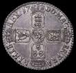 London Coins : A159 : Lot 1028 : Shilling 1700 Smaller 00 in date ESC 1121A About UNC with grey tone and hint of underlying gold lust...