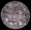 London Coins : A159 : Lot 1033 : Shilling 1725 Roses and Plumes ESC 1183 Good Fine with rim nicks and touches of surface deposit on t...