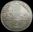 London Coins : A159 : Lot 1041 : Shilling 1758 ESC 1213 GEF/AU, slabbed and graded LCGS 70