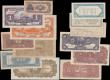 London Coins : A159 : Lot 1623 : China (13), including 10 Dollars Bank of Kwangsi 1929, 50 Yuan Bank of Communications Chungking 1914...