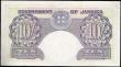London Coins : A159 : Lot 1756 : Jamaica 10 Shillings dated 7th April 1955 series 30D 40733, portrait King George VI at left, (Pick39...