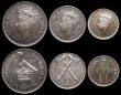 London Coins : A159 : Lot 2704 : Southern Rhodesia VIP Proof/Proof of record 6-coin set 1937 comprising Halfcrown 1937 KM#13 in a PCG...