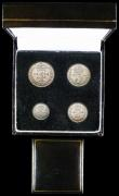 London Coins : A159 : Lot 2919 : Maundy Set 1924 ESC 2541 EF to UNC and lustrous, housed in a modern presentation box