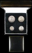 London Coins : A159 : Lot 2920 : Maundy Set 1972 ESC 2589 UNC and lustrous with some contact marks and touches of uneven tone, the Pe...