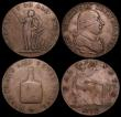 London Coins : A159 : Lot 3446 : Sudan 20 Piastres AH1310 (1893) KM#15 in copper About VF, 19th Century Halfpenny Tokens (2) Warwicks...