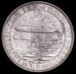 London Coins : A159 : Lot 457 : Germany -Weimar Republic 1928 Graf Zeppelin Dr. Hugo Eckener 36mm diameter in .900 silver EF with a ...