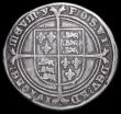 London Coins : A159 : Lot 594 : Crown Edward VI 1551 S.2478 mintmark y Fine with some tooling in the fields