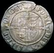 London Coins : A159 : Lot 606 : Groat Henry VIII First Coinage Profile Issue, Portrait of Henry VII S.2316 mintmark Portcullis Fine ...