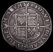 London Coins : A159 : Lot 616 : Halfcrown Elizabeth I Seventh Issue mintmark 1 (1601) S.2583 Fine with an even tone small planchet c...