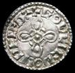London Coins : A159 : Lot 632 : Penny Harthacnut (1035-1042) Jewel Cross type, Watchet Mint, Godcild, +HARÐa CNVT REX, diademed ...