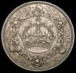 London Coins : A159 : Lot 721 : Crown 1928 ESC 368 toned GVF