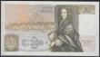 London Coins : A160 : Lot 120 : Fifty Pounds Somerset B352 issued 1981 first run series A01 715906, Sir Christopher Wren on reverse,...