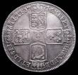 London Coins : A160 : Lot 2036 : Crown 1746 LIMA ESC 125 LCGS AU 78 scarce thus