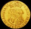 London Coins : A160 : Lot 2133 : Guinea 1694 S.3426 VF or better, the reverse fields with some smoothing, the portraits however are e...