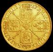 London Coins : A160 : Lot 2138 : Guinea 1727 George I S.3633 Fine with small rim nicks, the reverse slightly better, Rare, only the t...