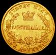 London Coins : A161 : Lot 1091 : Australia Sovereign 1870 Sydney Branch Mint Marsh 375 F/NVF