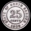 London Coins : A161 : Lot 1104 : British North Borneo 25 Cents 1929H KM#6 About EF with some light contact marks