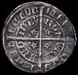 London Coins : A161 : Lot 1341 : Scotland Halfgroat David II Second Coinage (1357-1367), type B, with x added in one quarter of the r...