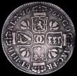 London Coins : A161 : Lot 1342 : Scotland Quarter Dollar 1676 S.5620 VG/Near Fine