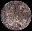 London Coins : A161 : Lot 1467 : Crown 1671 VICESIMO TERTIO ESC 43, Bull 386 EF with a pleasing underlying tone and some haymarking, ...