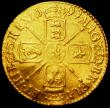 London Coins : A161 : Lot 1567 : Guinea 1699 S.3460 VG or better, Ex-Jewellery