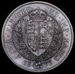 London Coins : A161 : Lot 1745 : Halfcrown 1893 Proof ESC 727, Bull 2779, Davies 663P dies 2B UNC with deep tone, Ex-London Coins Auc...